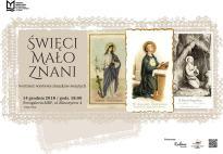 Święci mało znani - wystawa obrazków świętych