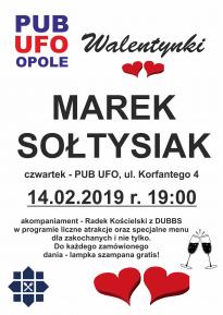 Marek Sołtysiak w Pubie UFO, Korfantego 4