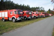 Ćwiczenia Straży Pożarnej w Nadleśnictwie Kup