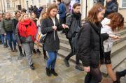 Studniówki 2019 - Polonez na Rynku w Opolu