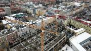 Centrum przesiadkowe Opole Główne pnie się w górę