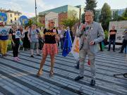 Demonstracja w obronie wolnych mediów - Opole