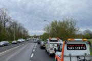 Utrudnienia na Wrocławskiej po kolizji kilku samochodów osobowych - 20210505164018_180214127_542172n_3.jpg