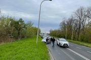 Utrudnienia na Wrocławskiej po kolizji kilku samochodów osobowych - 20210505164018_181956528_290673n_7.jpg