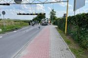 Kierujący kamperem nie zmieścił się pod wiaduktem na Krapkowickiej - 20210726143246_215105650_510016n_2.jpg