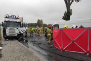 Zderzenie busa z ciężarówką w powiecie oleskim. Nie żyje 62-letni kierowca - 20211018171017_img-20211018-wa0011_1.jpg