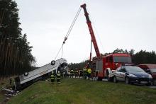 Tragiczny wypadek autobusu na A4