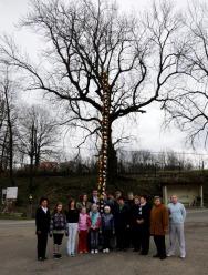 W Sławniowicach tworzenie gigantycznych palm to już tradycja.