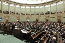 Ich pierwszy dzień w Sejmie