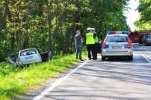 Tragiczny wypadek podczas wyprzedzania na trasie Opole - Brzeg. Zginęła kobieta.