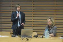 Piotr Kokorczak z Politechniki Opolskiej opowiada o projektach międzynarodowych jakie realizowała uczelnia.