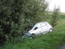 Pijana 19-letnia rowerzystka wjechała pod samochód