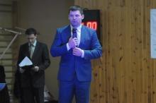 Życzenia Budowlanym w sobotę składał m.in Szymon Kołecki, obecnie prezes PZPC a w przeszłości zawodnik opolskiej klubu.