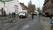 Śmiertelny wypadek w Murowie. Zginęła rowerzystka.