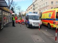 Mężczyzna zasłabł w centrum Opola
