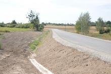 Odbudowano drogę, która zapadła się w Graczach. Trwają odbiory techniczne.