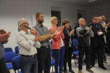 Brawa pojawiły się, gdy transmitowano przemówienie premier Ewy Kopacz.