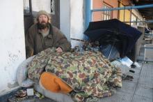 """Wigilia u bezdomnych. """"Dzień jak co dzień""""."""