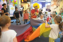 Fundacja Dr Clown zachęcała dzieci do cyrkowych aktywności i dobroczynności