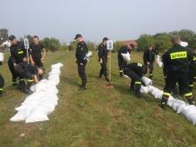 Strażacy-ochotnicy szkolili się na wypadek wystąpienia powodzi