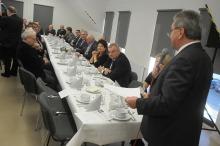 Rolnicy z Opolszczyzny na wspólnym spotkaniu opłatkowym