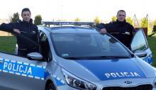 Policjanci uratowali życie czteroosobowej rodziny