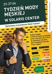 Solaris Center rozdaje mężczyznom kasę za zakupy!