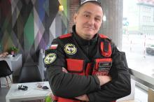 Leszek Kois - pozytywnie zakręcony dowódca Opolskiej Grupy Poszukiwawczo-Ratowniczej