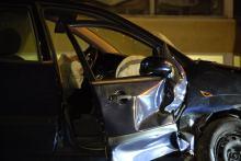 Kierowca wymusił pierwszeństwo na skrzyżowaniu, groźny wypadek koło Błękitnej Wstęgi