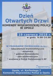 Już jutro dzień otwarty w Komendzie Wojewódzkiej Policji w Opolu. Co możemy zobaczyć?