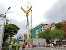 Ulica Korfantego będzie zamknięta dłużej, co najmniej tydzień