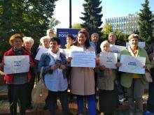 Violetta Porowska proponuje budżet dla seniorów, by osobom starszym żyło się taniej i lepiej