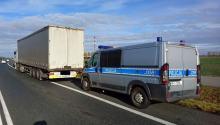 Mając 2 promile alkoholu prowadził 40 tonową ciężarówkę