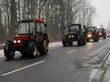 Rolnicy z Opolszczyzny blokowali krajową 11 i obwodnicę Opola
