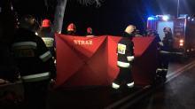 Wierzbięcice - samochód zjechał z drogi i uderzył w drzewo. 2 osoby nie żyją