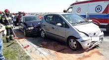 Nieostrożność kierowcy doprowadziła do kolizji w Krapkowicach