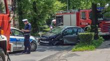 Kierujący Toyotą prowadził pod wpływem alkoholu i zderzył się z BMW