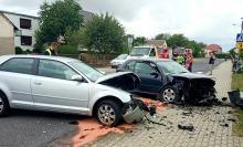 5 osób rannych po zderzeniu pojazdów w Łączniku