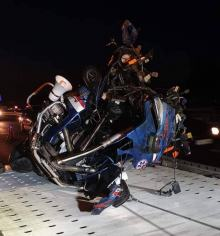 Niebezpiecznie na drogach. Wczoraj doszło do dwóch wypadków z udziałem jednośladów