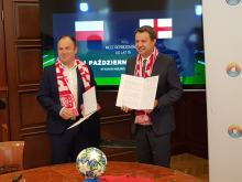 Reprezentacje U-19 Anglii i Polski zagrają na stadionie przy Oleskiej