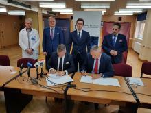 Uniwersytecki Szpital Kliniczny rozpoczął współpracę z siecią badawczą Łukasiewicz