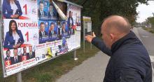 Brutalna kampania wyborcza. Kto komu niszczy materiały wyborcze?