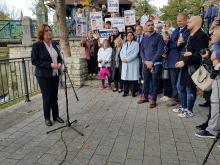 Małgorzata Kidawa-Błońska spotkała się z wyborcami w Opolu i Kędzierzynie-Koźlu