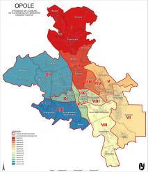 Znamy wyniki do Rad Dzielnic miasta Opola