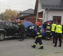 Zderzenie pojazdów w Namysłowie