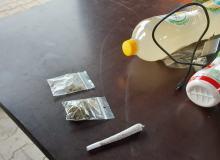 Przewozili narkotyki i wpadli podczas kontroli na A4