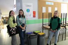 Licealiści promują ekologię wśród swoich kolegów