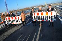 Obwodnica Piastowska oficjalnie otwarta. Pamiętajmy o ograniczeniu prędkości!