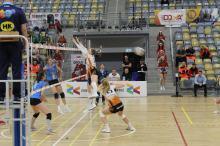 Siatkarki Uni Opole pewnie pokonały Stal Mielec i zapewniły sobie podium w tabeli