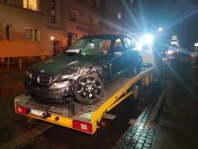Wypadek na skrzyżowaniu Katowickiej z Kośnego